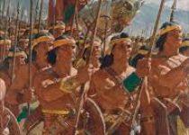 Helman with his warriors